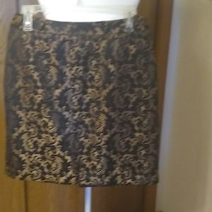 Worthington classic Brocade skirt